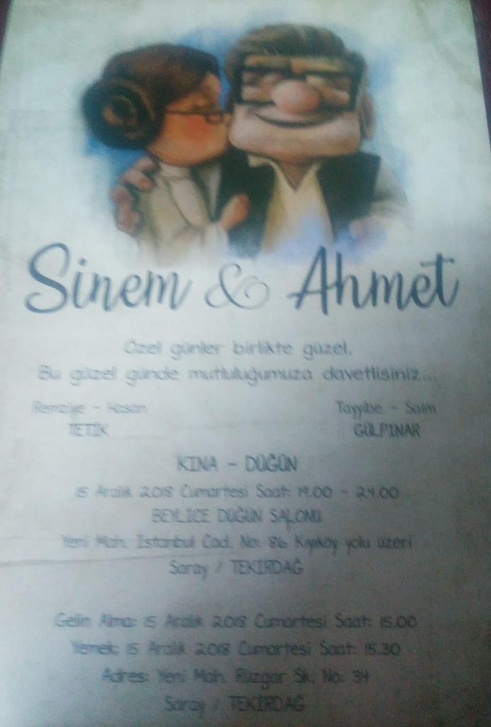 sinem & ahmet