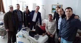 Emektar Korucumuz Rıfat Gülseven'i ziyaret ettik.